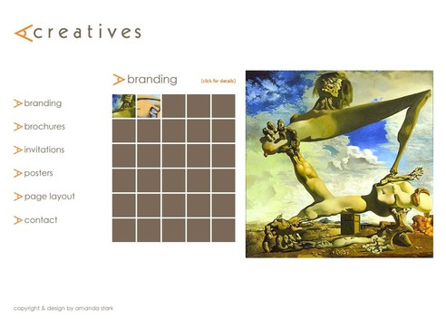 ACreatives Gallery Page