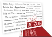 Chef Rozon Business Card Thumb