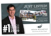 Kevin McCarthy Postcard Front