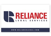 Reliance Legal Services Business Card Back