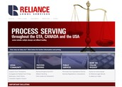 RelianceLegal.com Homepage Thumb