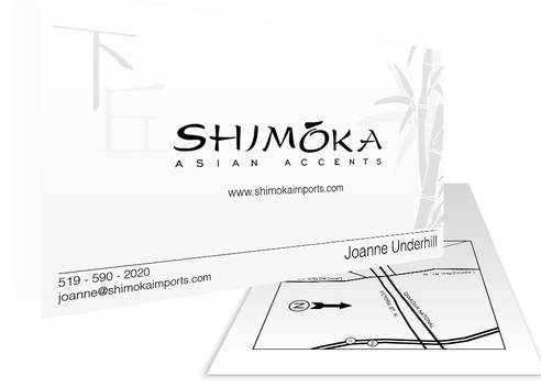 Shimoka Business Card