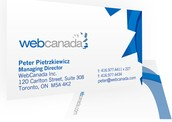 WebCanada Business Card '07