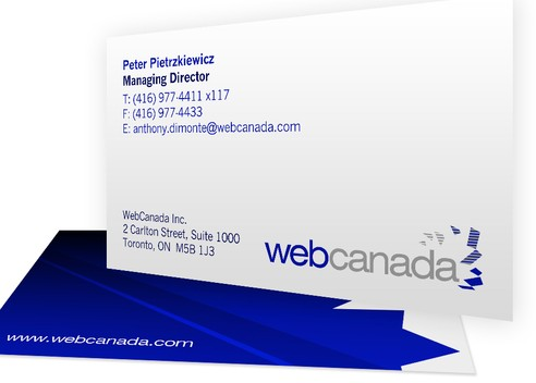WebCanada Business Card '09